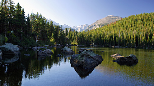 Rocky Mountain National Park by William Wiley