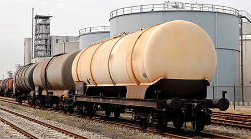 Oil by Rail Train, Shutterstock
