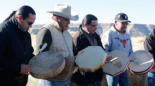 Tribal Lands Drumming, Judith Kohler