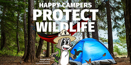 Happy Campers Protect Wildlife