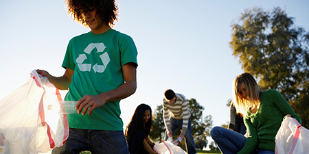 EcoLeaders recycling