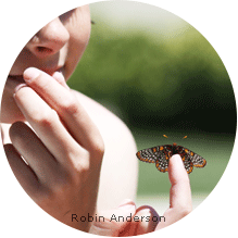 MD Butterfly on Finger: Robin Anderson