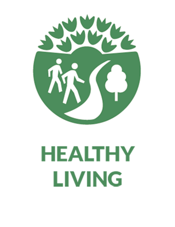 healthy living pathway icon