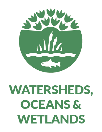 watersheds oceans and wetlands (WOW) pathway icon