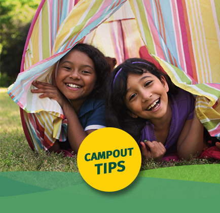 Get Campout Tips!