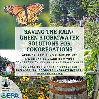 Saving the Rain - Green Stormwater Solutions for Congregations