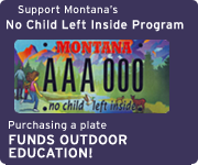 Purchase a license plate and help fund outdoor education