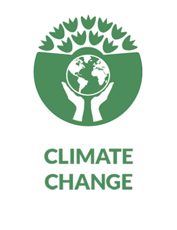 climate change pathway icon