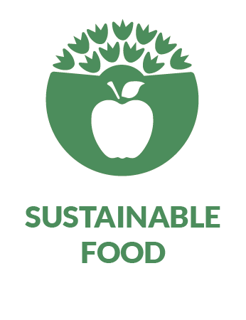 sustainable food pathway icon