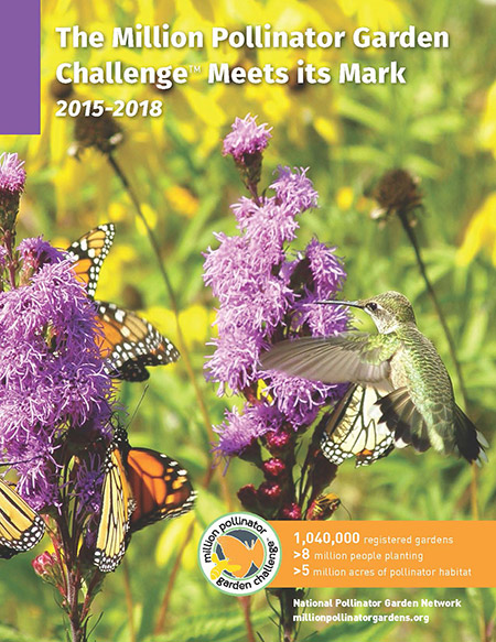 The Million Pollinator Garden Challenge Meets Its Mark