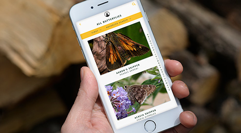 Nature Guides app