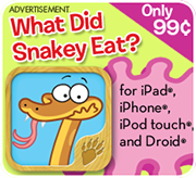 Download Ranger Rick's Snakey app today!